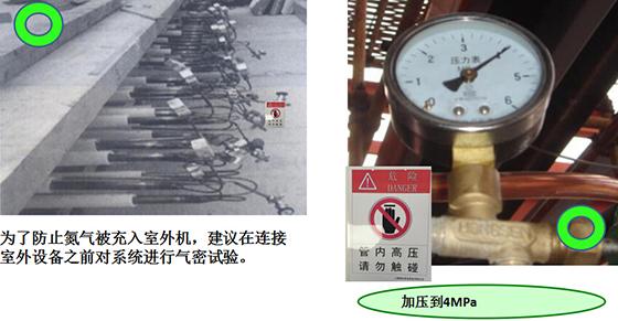中央空调充氮保压