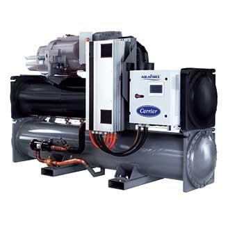 开利水冷螺杆式冷水/热泵机组